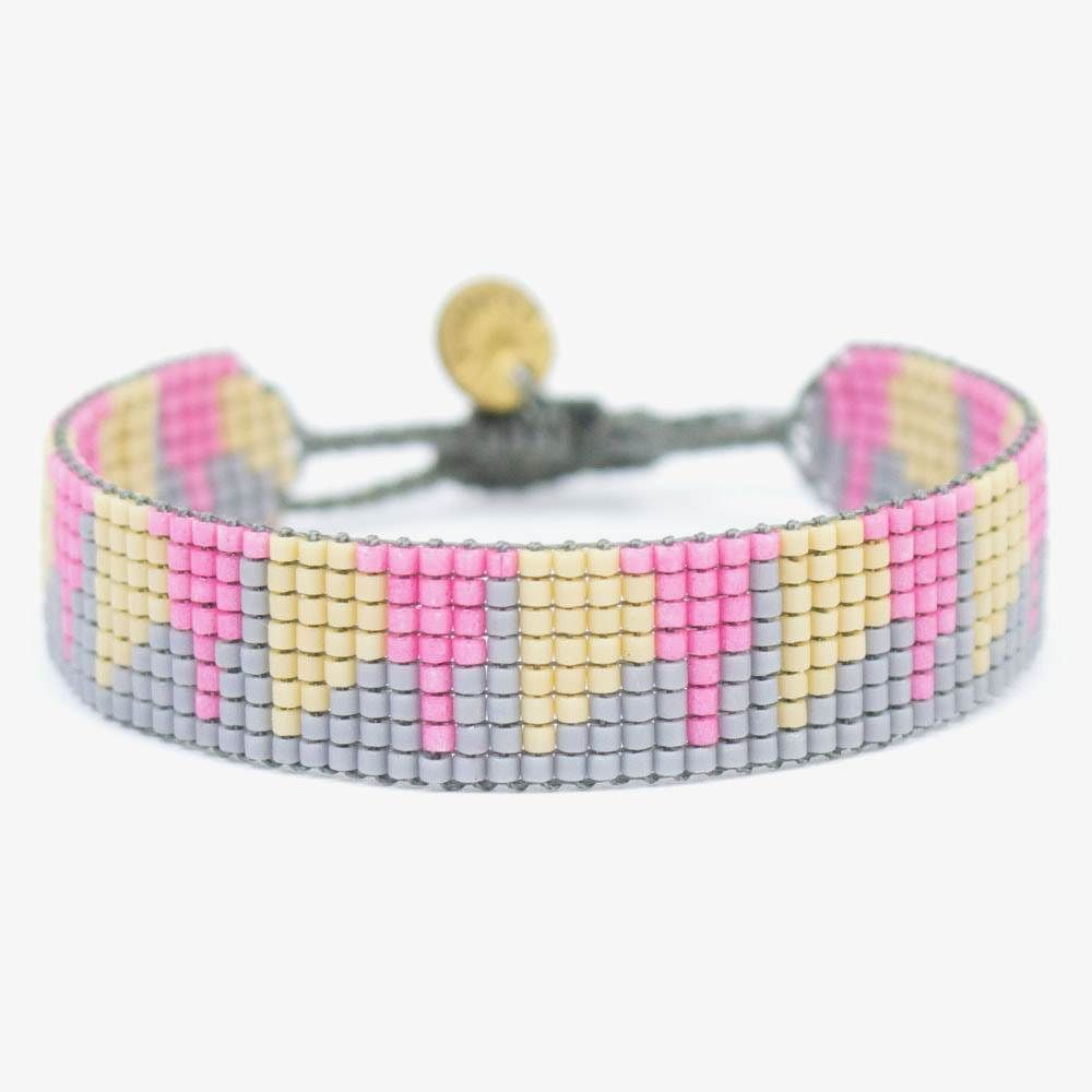 Strass RENNES - Gris & Rosa