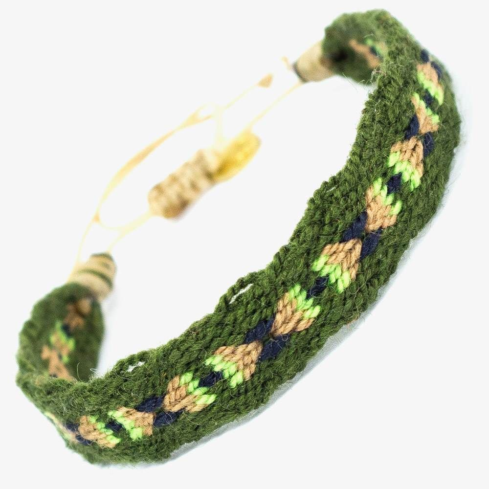 CAPTAIN Bracelet - Brown & Green