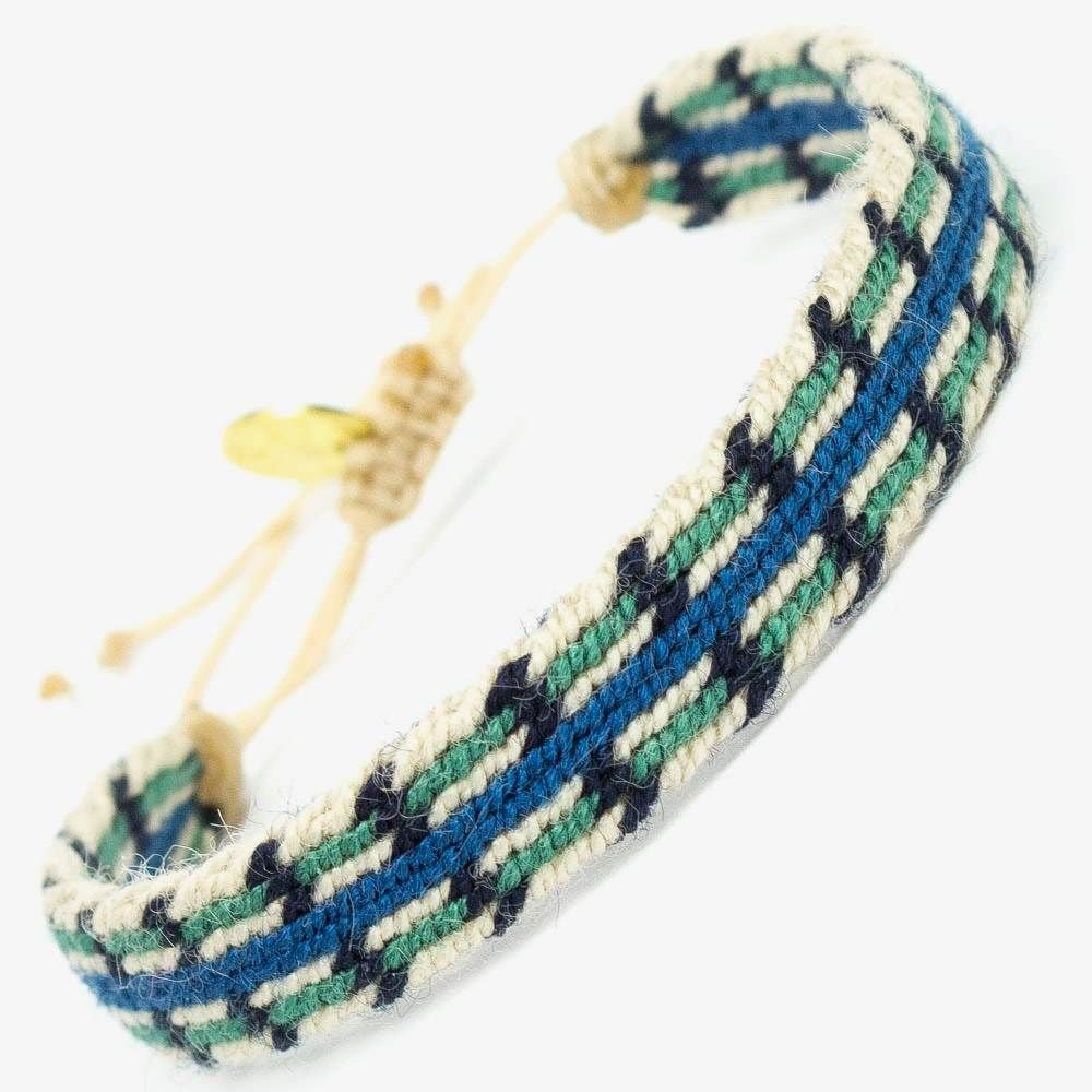 CAPTAIN Bracelet - Green & Blue