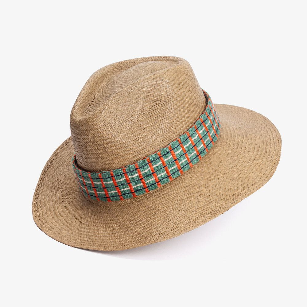 AGUACATE HAT - CAMEL + BAND